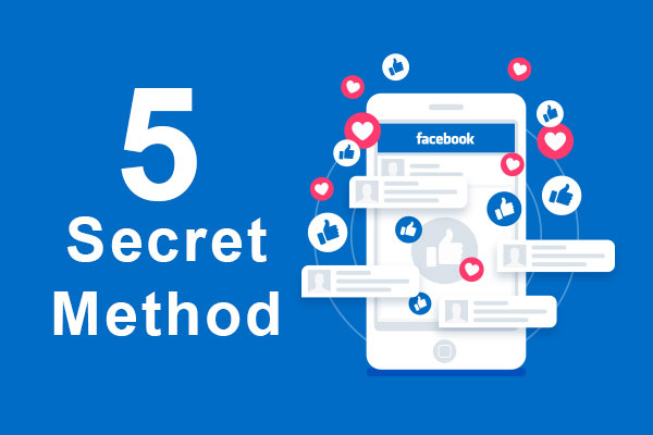 5 Secret methods to boost your Facebook pages likes today
